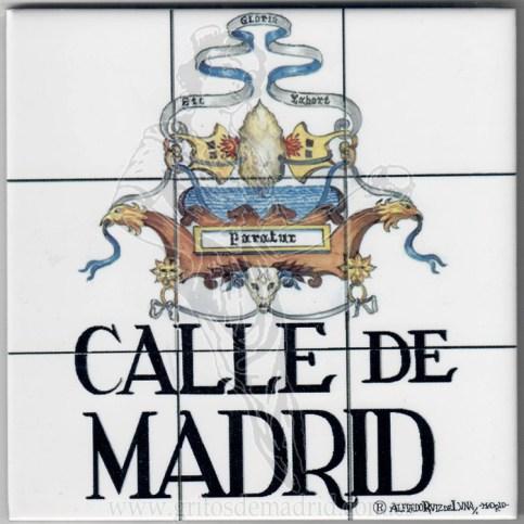 Azulejo Calle de Madrid