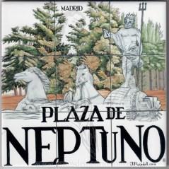 Azulejo Plaza de Neptuno