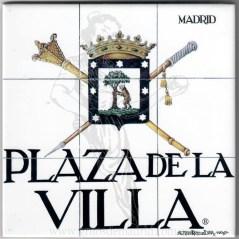Azulejo Plaza de la Villa