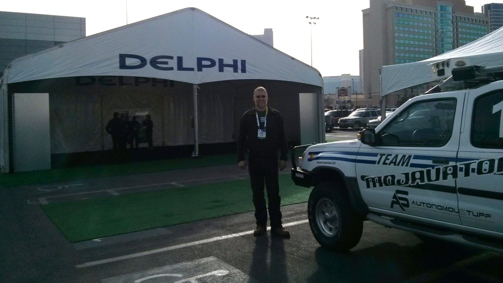 White Knight and Karl at CES 2015