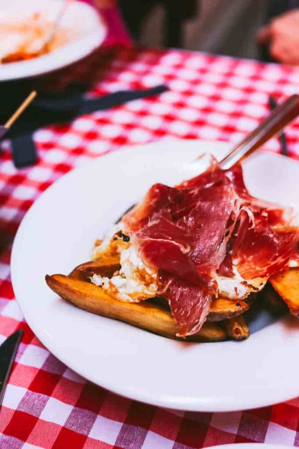 must eat foods in madrid - jamon