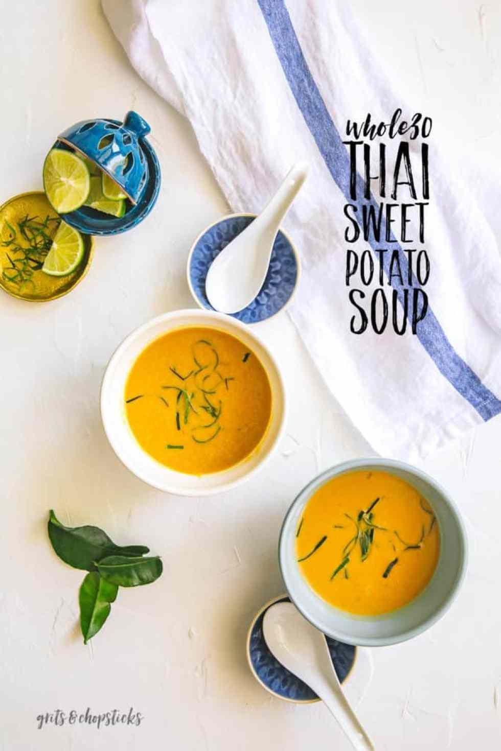 whole30 thai sweet potato soup