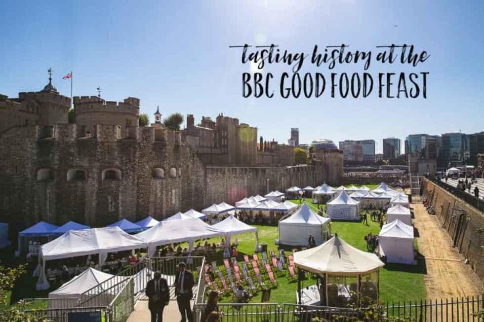 tasting history at the bbc good food feast
