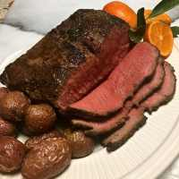 Skillet New York Strip Roast