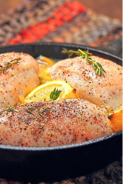 baked lemon chicken breasts