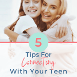 The teen years are an emotional roller coaster for parents and their teens. Connecting with them isn't always easy but here's a plan that can help.