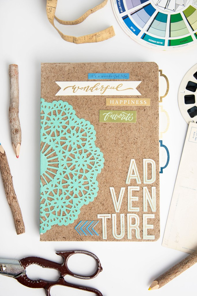 DIY Notebook and crafts for teens | easy summer crafts for girls