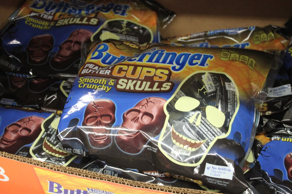 Butterfinger Skulls Halloween Recipes