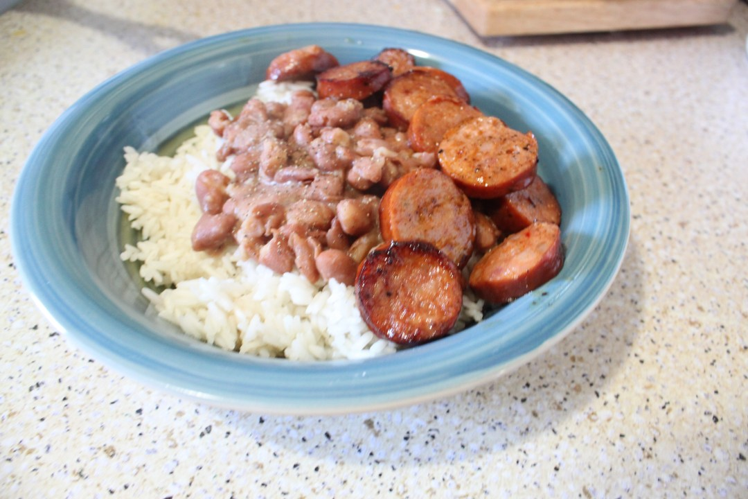 Rice Beans and Sausage Recipe