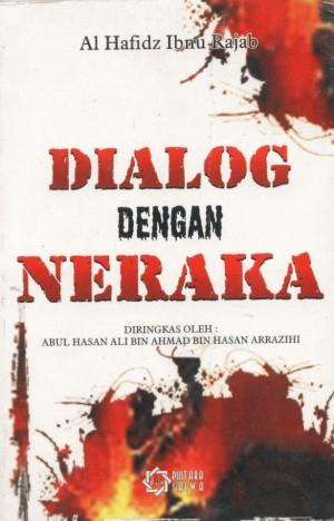 Gambar sampul depan buku Dialog Dengan Neraka