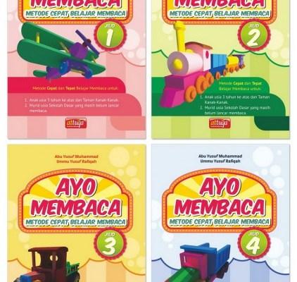 AYO MEMBACA Metode Cepat Belajar Membaca Untuk Anak-anak