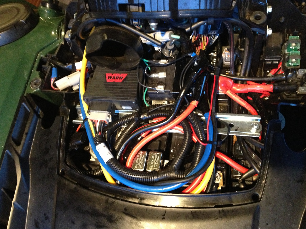 warn winch contactor wiring diagram 2009 jetta install solenoid toyskids co under the hood on 2014 grizzly 700