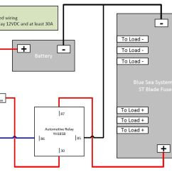 Blue Sea Add A Battery Wiring Diagram Raynor Garage Door Sensor For Fuse Box All Data 12 Volt Block Home Electrical