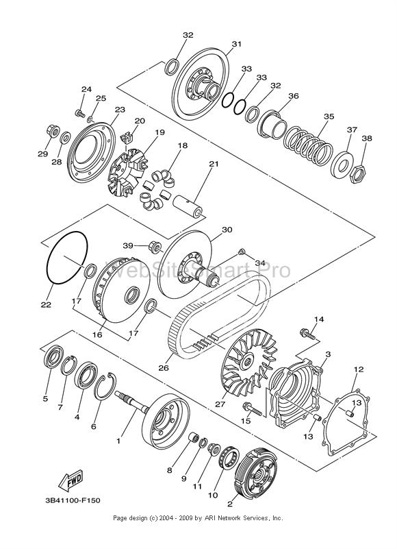 Engine Schematics For 2006 Yamaha Yz125