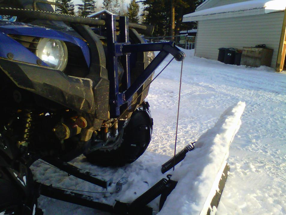 to all who plow snow  Yamaha Grizzly ATV Forum