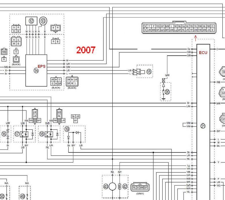 2014 Ski Doo Headlight Wiring Diagram Installing Eps On My Non Powersteering Griz Yamaha