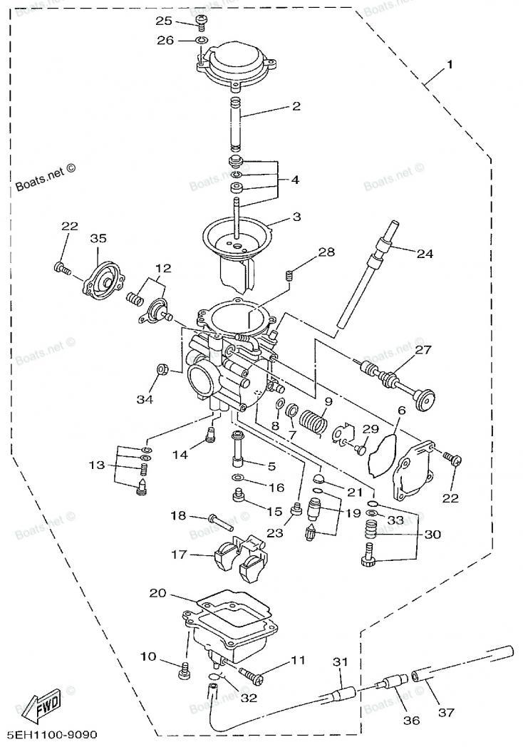 Yamaha Wolverine 450 4x4 Head Light Wiring Diagram