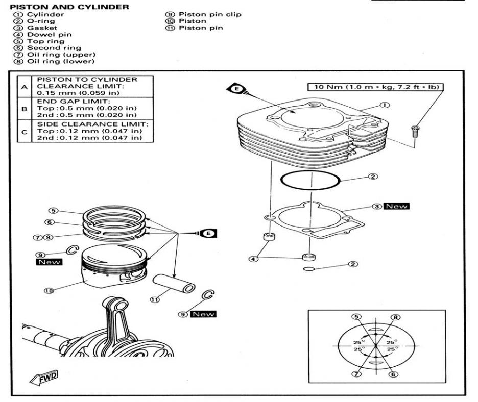 Wiring Diagram For The Engine Of A Yamaha Bruin 250 : 51