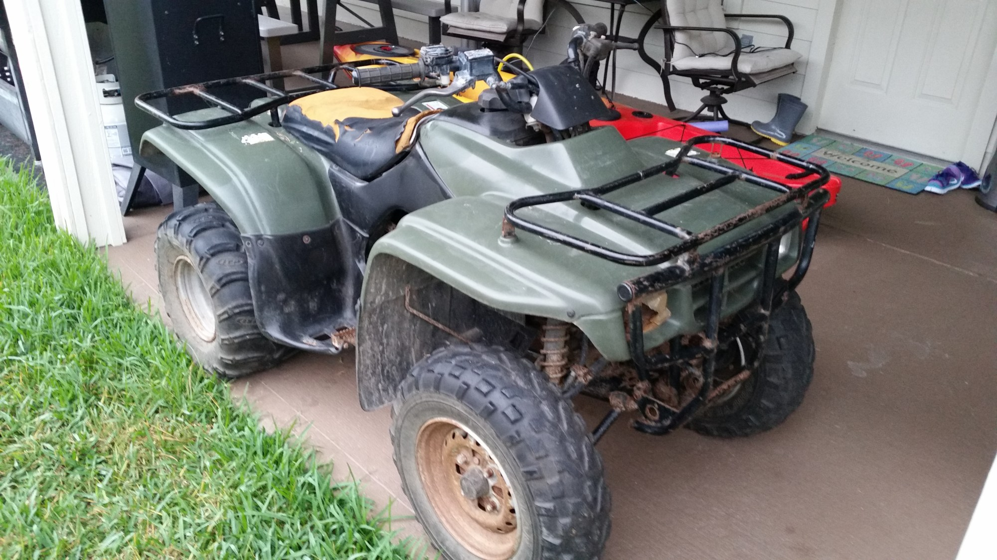 hight resolution of wiring diagram for a yamaha kodiak 400