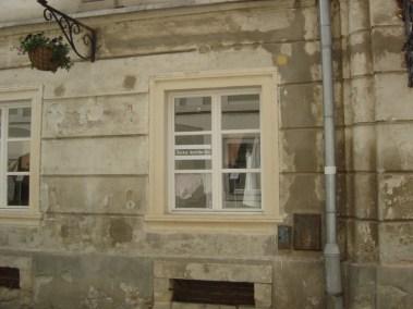 Kameni okviri prozora - Varaždin (4)