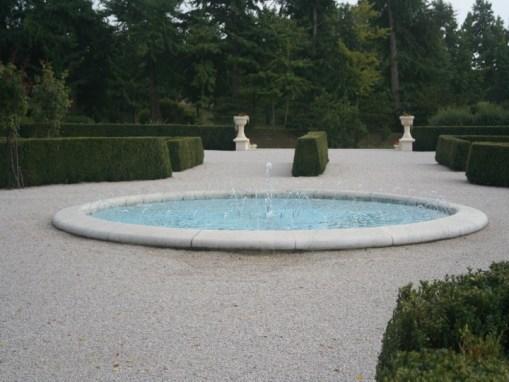 Kurija – izrada fontane