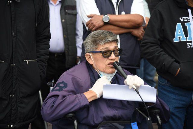 """José Luis Tenorio declaró que las mesas de diálogo han sido un gran fracaso porque las autoridades no resuelven nada; """"este es un gobierno de engaños solamente"""", dijo."""