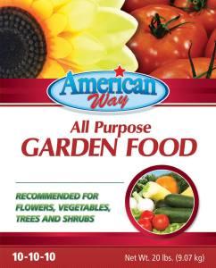 American Way Garden Food - 20 lbs