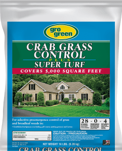 Gro Green Crabgrass Control Plus Super Turf - 14 lbs
