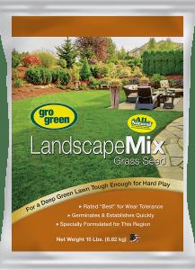 Gro Green Landscape Mix Grass Seed - 15 lbs