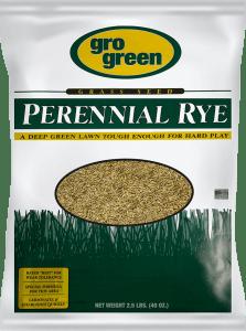 Gro Green Perennial Rye Grass Seed - 2.5 lbs - Single Bag