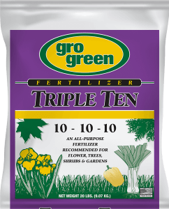 Gro Green Triple Ten 10-10-10 Fertilizer - 20 lbs