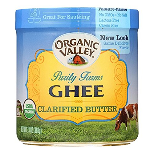 ORGANIC VALLEY Certified Ghee Clarified Butter 3Pack (13oz ...