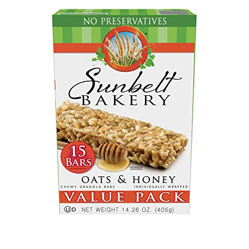 Sunbelt Bakery Oats amp Honey Chewy Granola Bars 10 oz