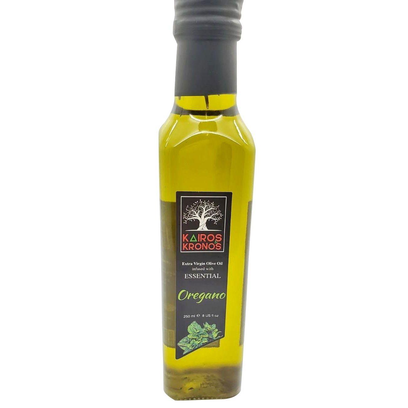 GroceryandMeat.com:Kairos Kronos Oregano Olive Oil 250ml