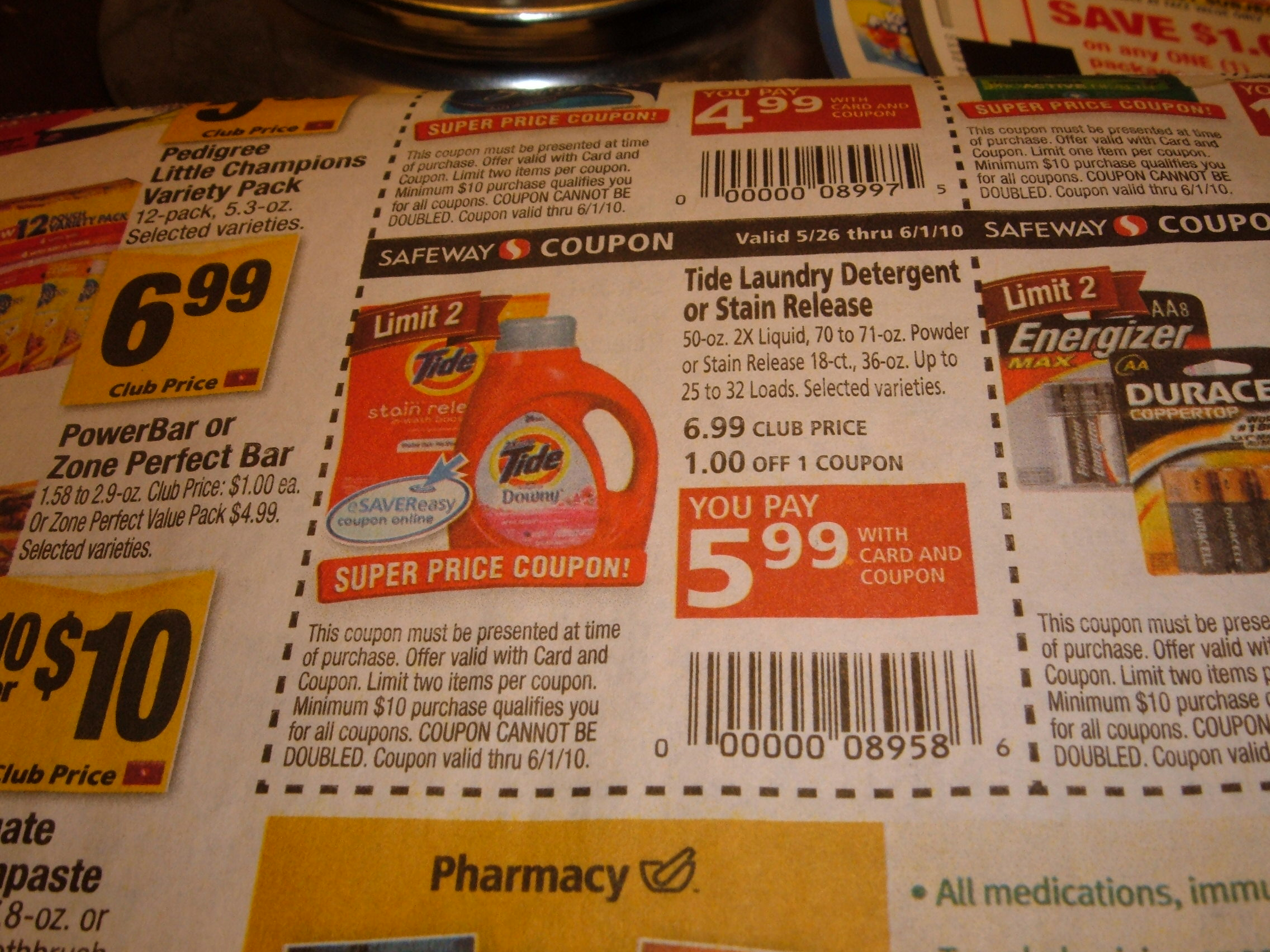 p g everyday chevy trucks 4 door free tide stain release laundry detergent at safeway