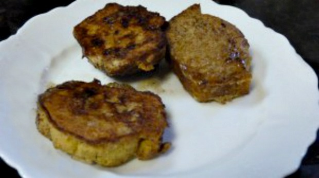Cornbread French Toast!  Re-purposing Leftovers!