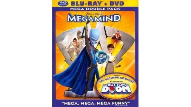 Megamind 2-Disc Blu-ray Just $5.99 At Best Buy!