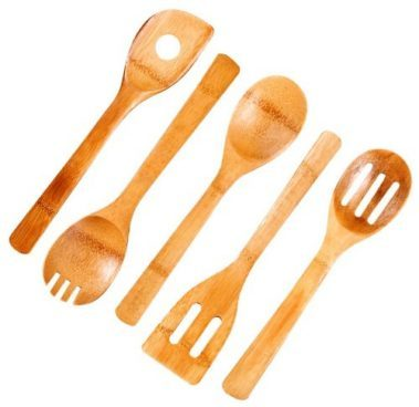 Cook N Home 5-Piece Bamboo Kitchen Tool Only $4.99! (Was $16)