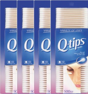 Q-tips Cotton Swabs 500 Ct - 4 pk Just $2.63 Each! Ships FREE!