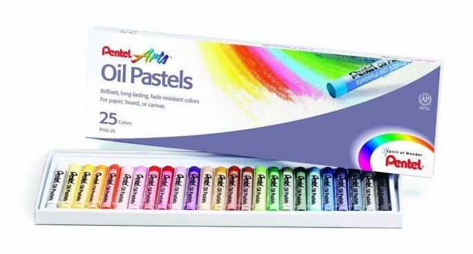 Pentel Arts Oil Pastels, 25 Color Set Only $1.99! (Was $4.50)