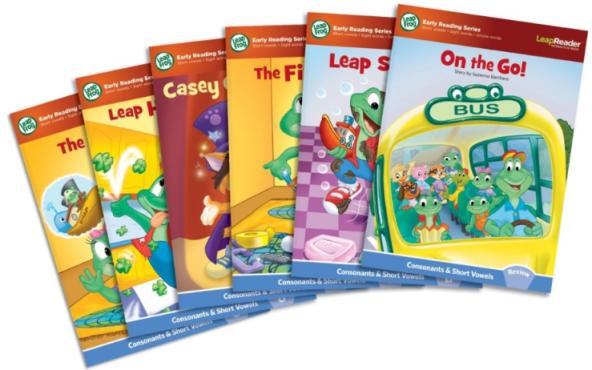 LeapFrog LeapReader Learn To Read Set of 6 Books Only $10! (reg. $19.99)