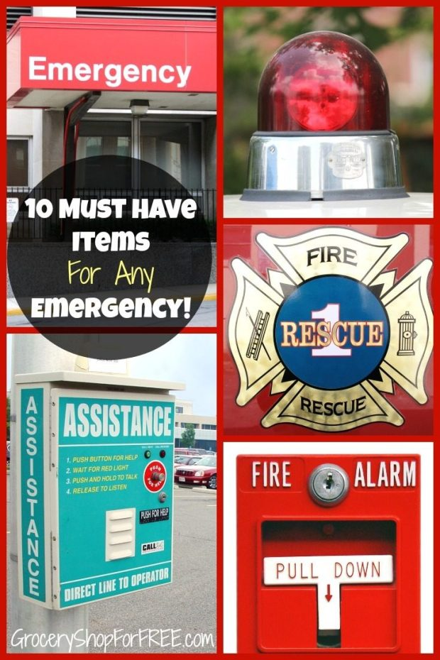 10 Must Have Items For Any Emergency Pin