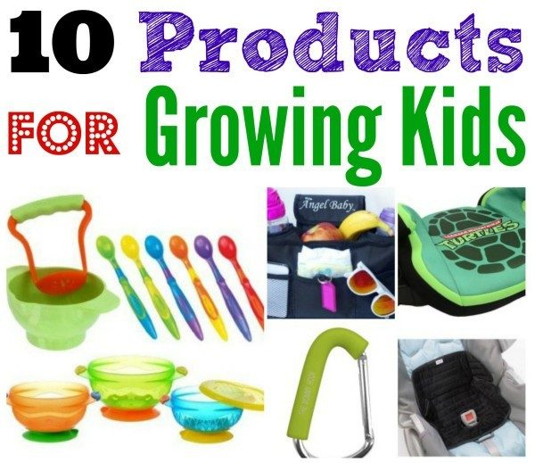 10 products for growing kids