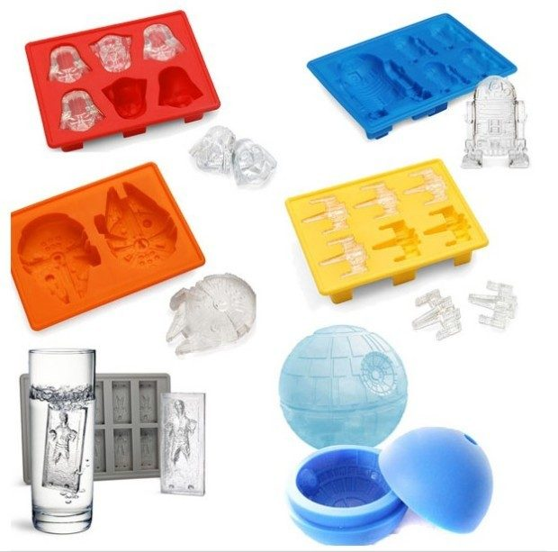 Star Wars Silicone Molds Just $4.99!  PLUS FREE Shipping!  Down from $15!