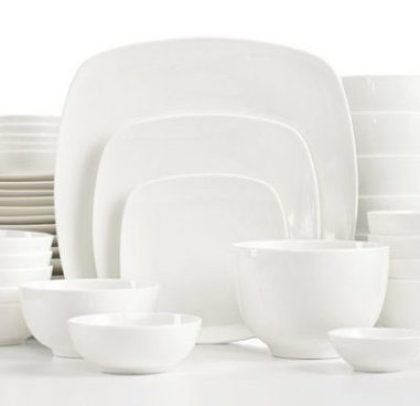 White Elements Hampton Square Service for 6 Only $29.99! (Reg. $117) Ships FREE!