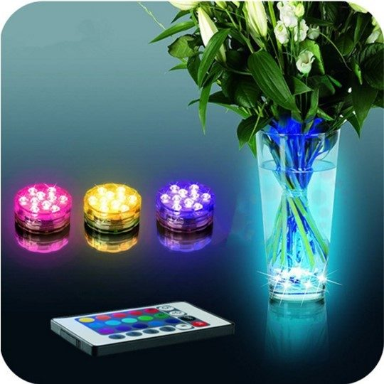 Remote Control Submersible Multicolor LED Lights Just $13.95! PLUS FREE Shipping!