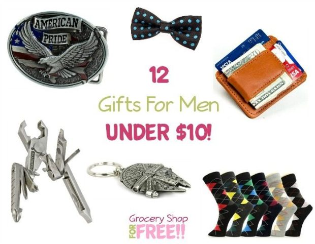 12 Gifts For Men Under $10!