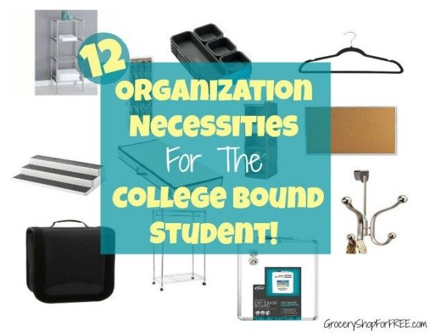 12 Organization Necessities For The College Bound Student