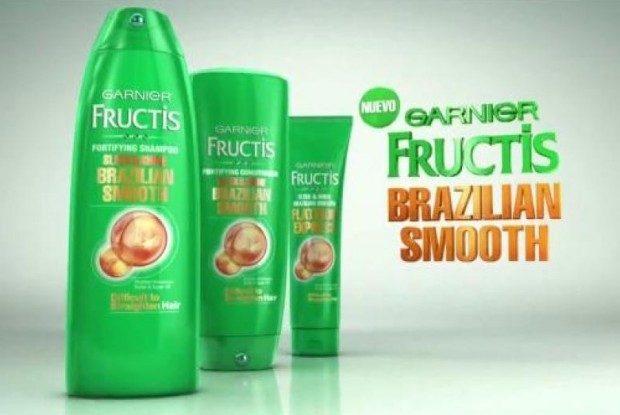 FREE Garnier Fructis Brazilian Smooth Haircare Sample!