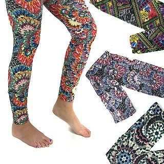 2 Pairs Of Printed Leggings in Assorted Colors Only $11.99 Plus FREE Shipping!
